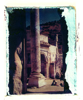 Emulsion Transfer - Ephesus, Turkey